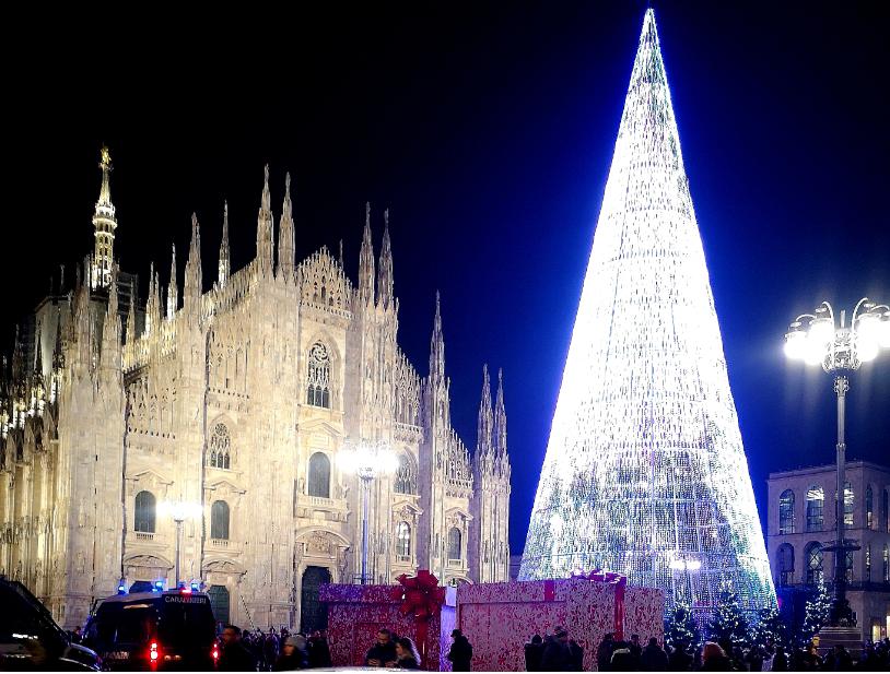 Târgul de Crăciun de la Milano
